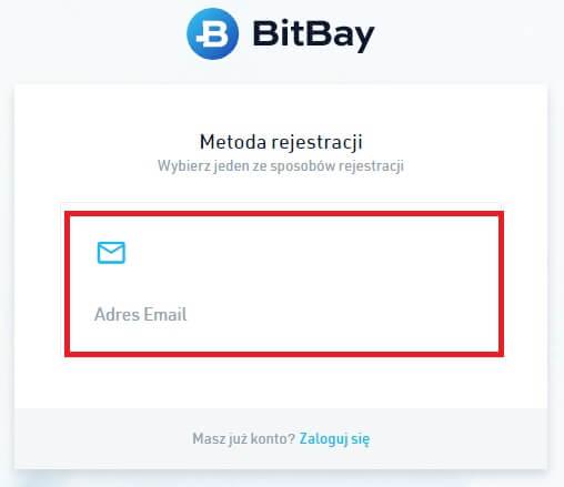 rejestracja bitbay